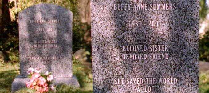 Buffy Summers Grave