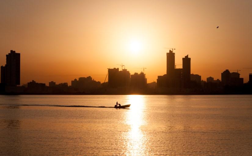Photo: The Bahrain Sunset