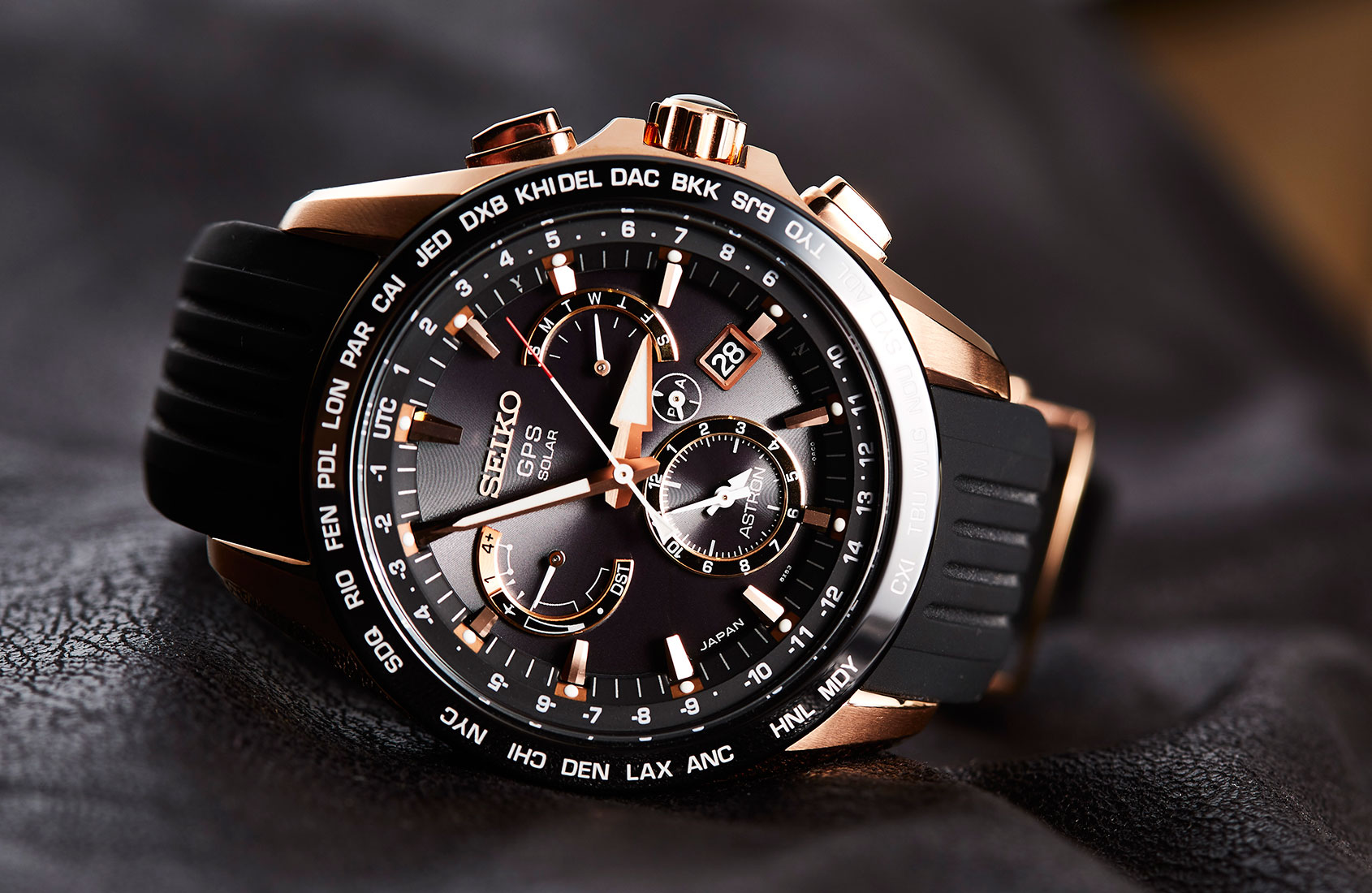 Seiko Astron Seiko Astron Gps Solar 8x Dual Time One Week Review In Japan
