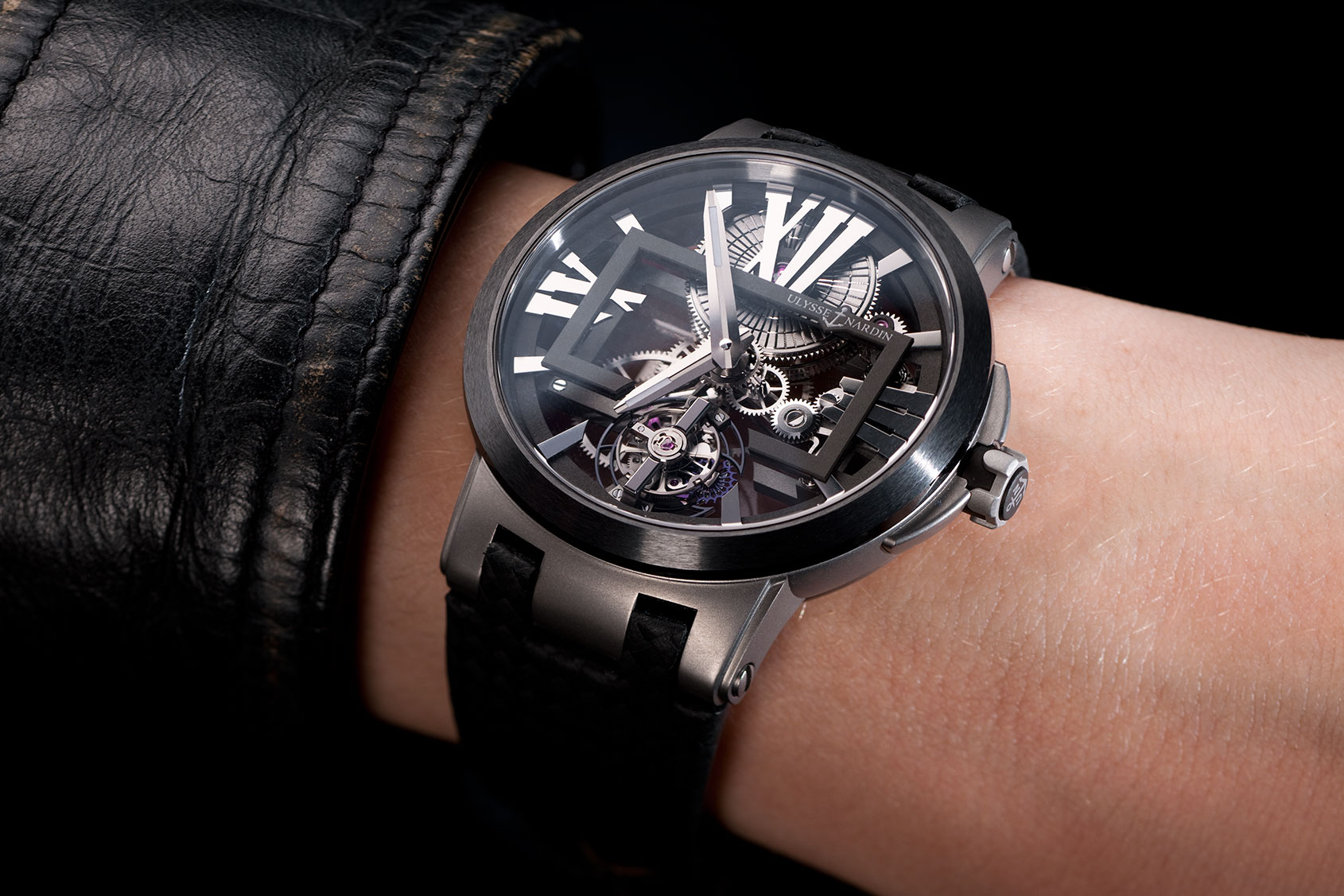 Uhren Luxusuhren Introducing: The Ulysse Nardin Executive Tourbillon - Time
