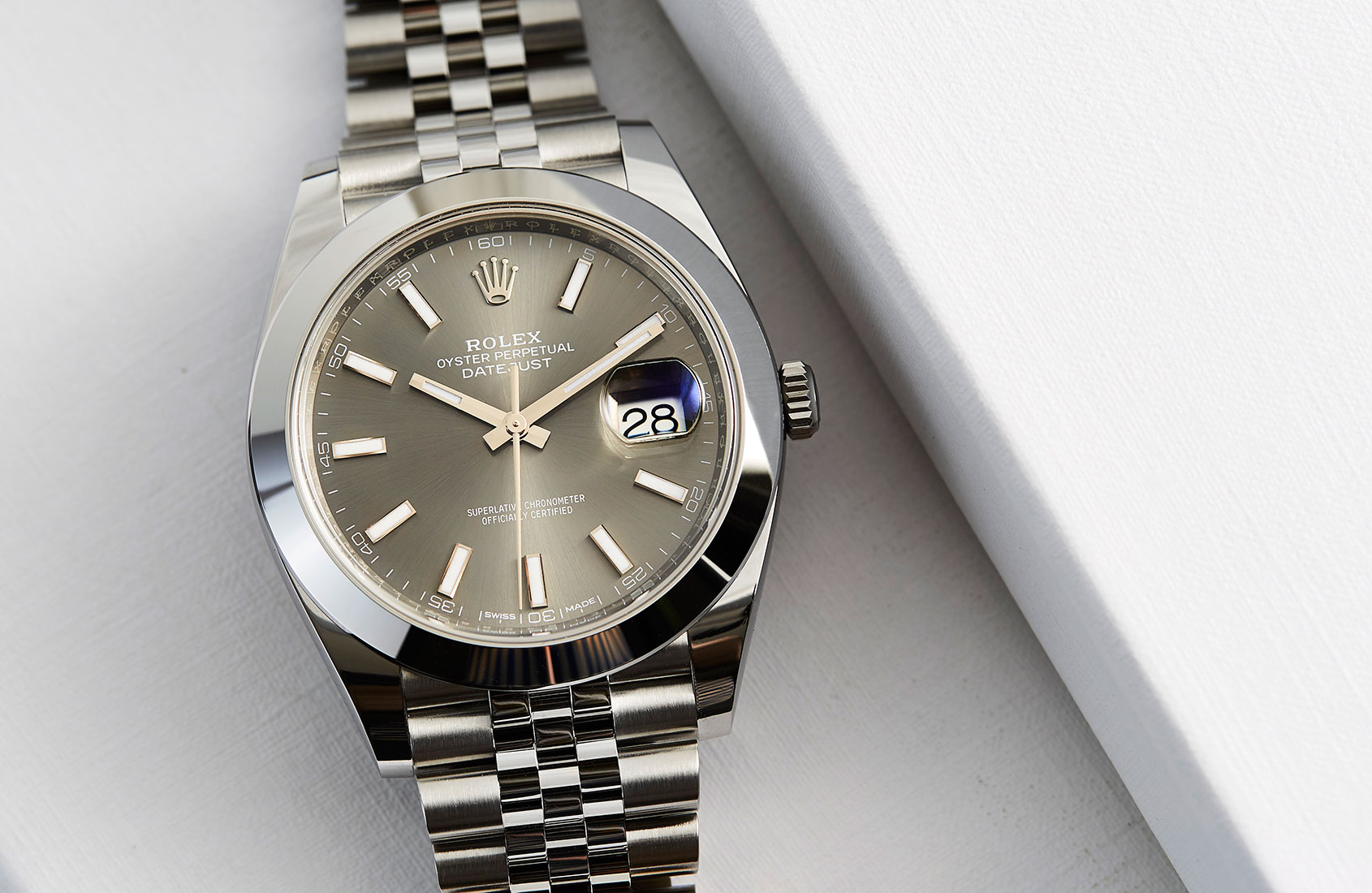 Steel Rolex Rolex Oyster Perpetual Datejust 41 In Steel Hands On Review