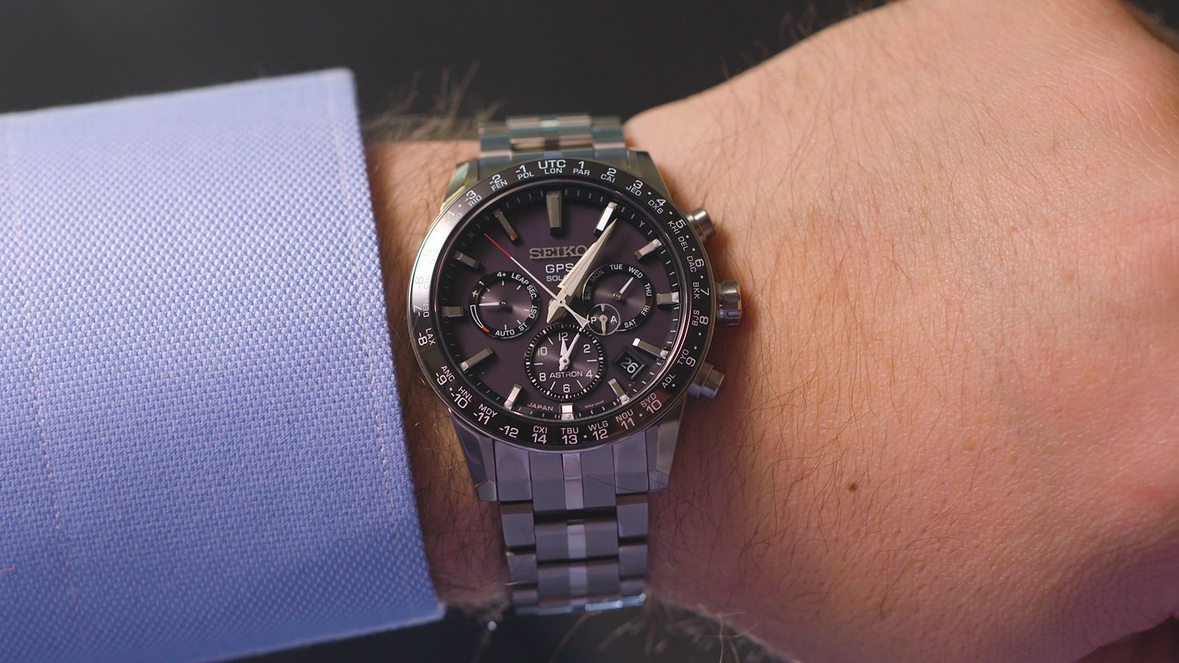Seiko Astron Video Smaller Thinner The Seiko Astron Gps Solar 5x Time And