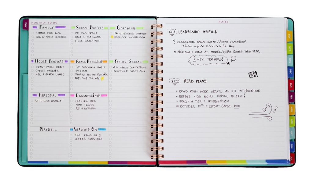 The Monthly ToDo List \u2013 Time  ToDo Planner