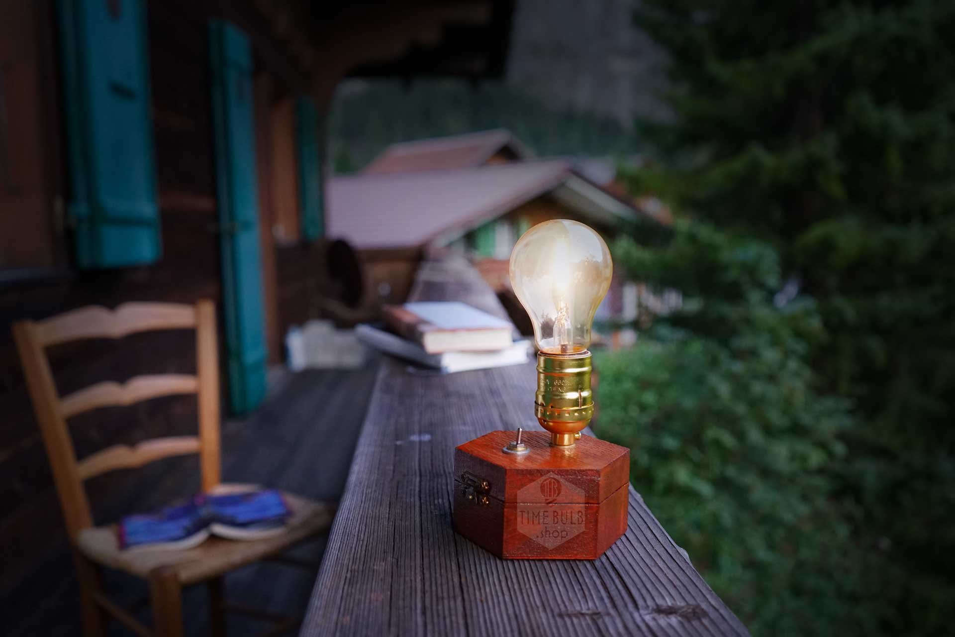 Timebulb Wireless Table Lamp - Woonkamer Lamp Vintage