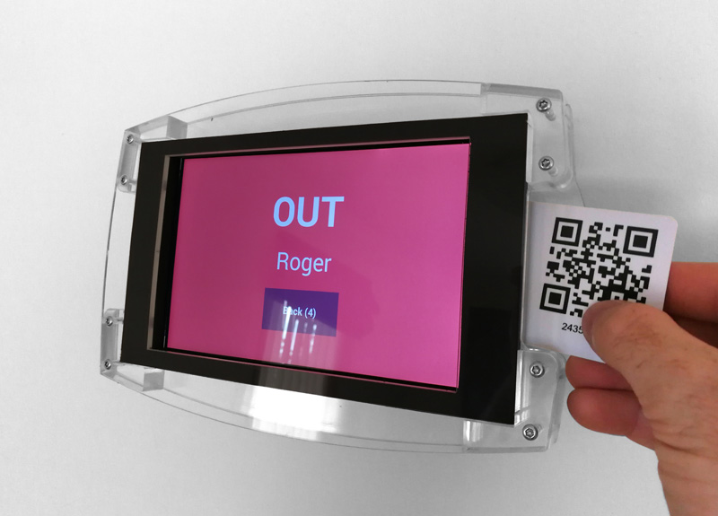 Wireless Job Time Clock for Engineering  Commercial Industry