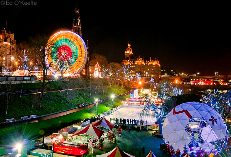 Christmas Santa Hd Wallpapers Edinburgh Christmas Market At Night Quot It Is Better To