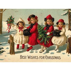 Small Crop Of Vintage Christmas Photos
