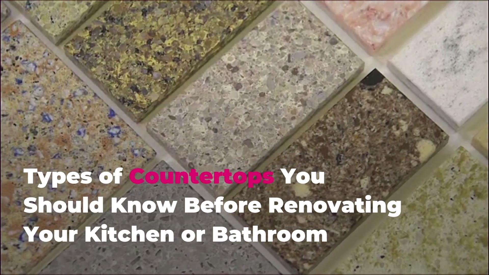 10 Types Of Countertops To Know Before Your Renovation Real Simple