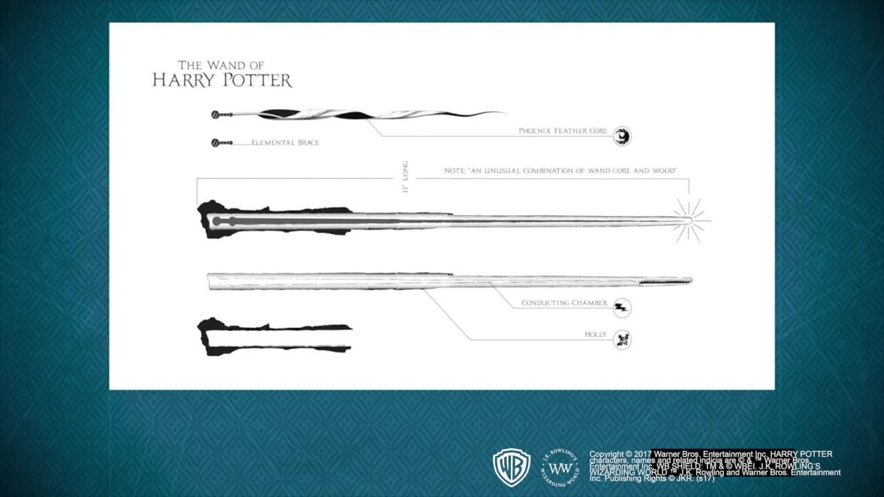 Tv Changing Wand Harry Potter The Wand Collection Trailer