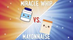 Small Of Miracle Whip Vs Mayo