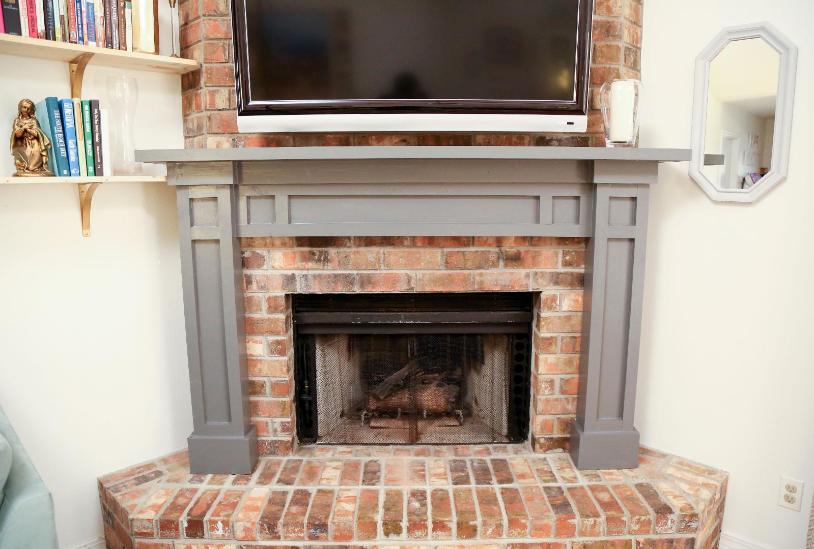 Fireplace Mantel Parts Dress Up Your Living Room With A Diy Fireplace Mantel Southern