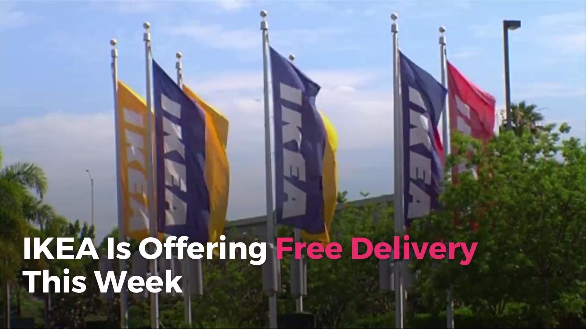 Ikea Bank Hotline Ikea Is Offering Free Delivery This Week Real Simple