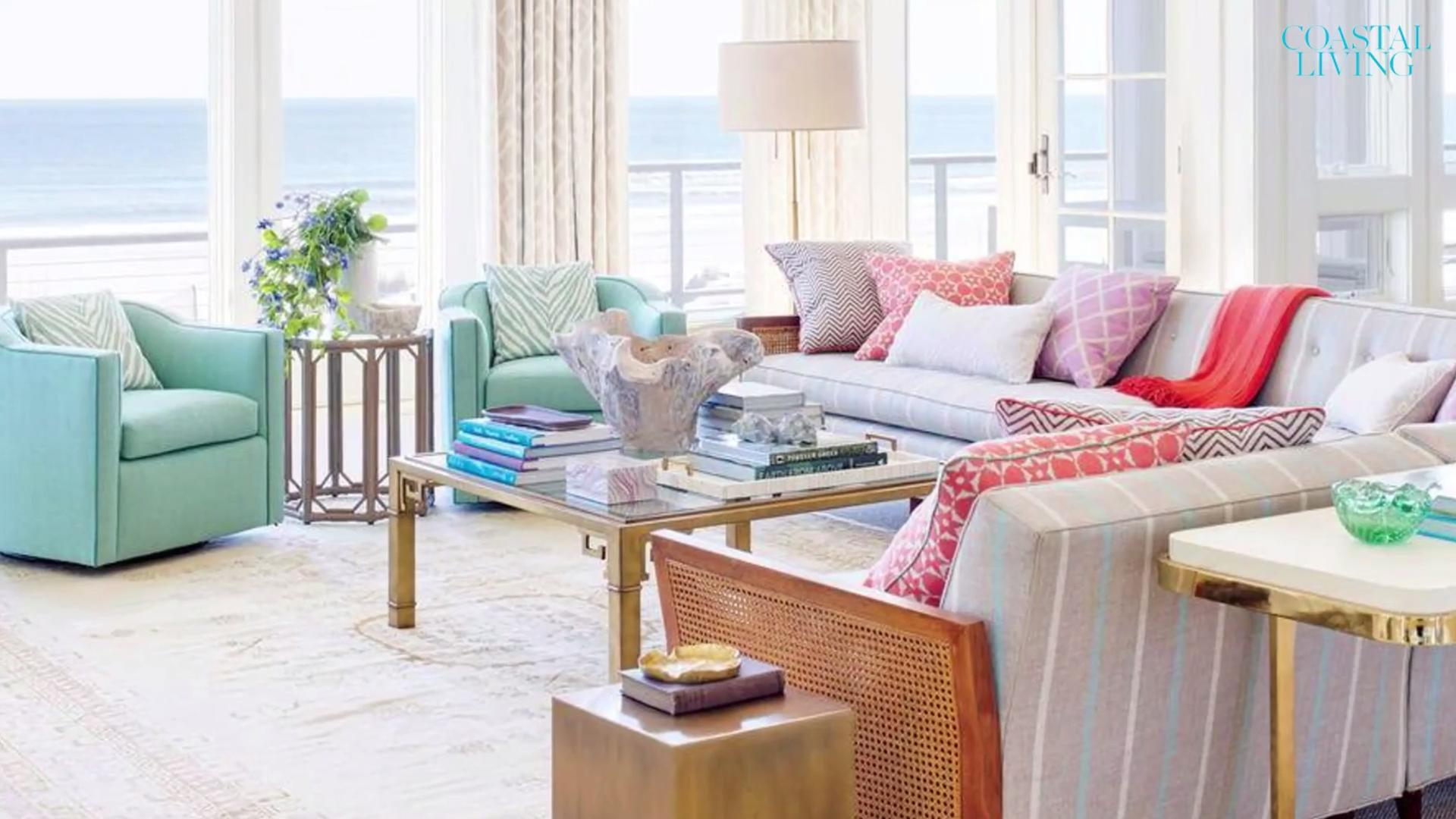 A Living Room Design 10 Living Rooms With Coastal Style