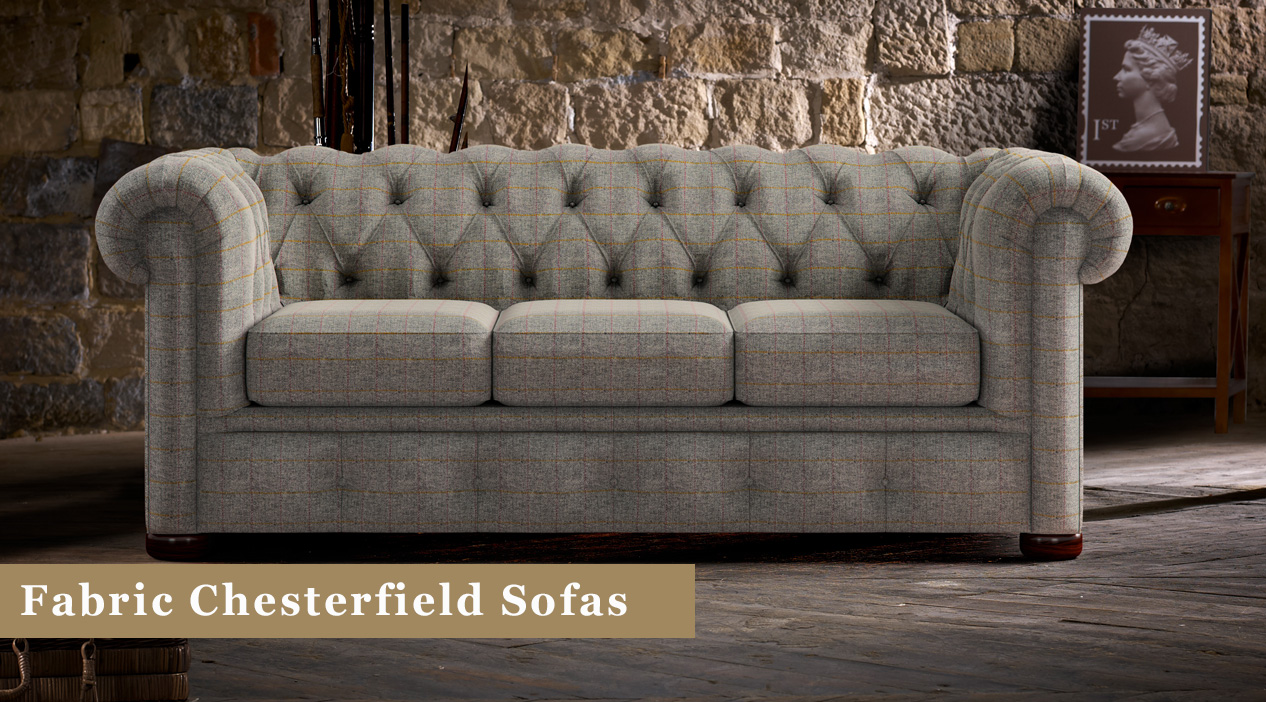 Chesterfield Suites Fabric Chesterfield Sofas Uk Timeless Chesterfields