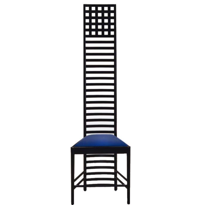 Sessel Asiatisch Hill House Mackintosh Chair » Bauhaus Designerstuhl