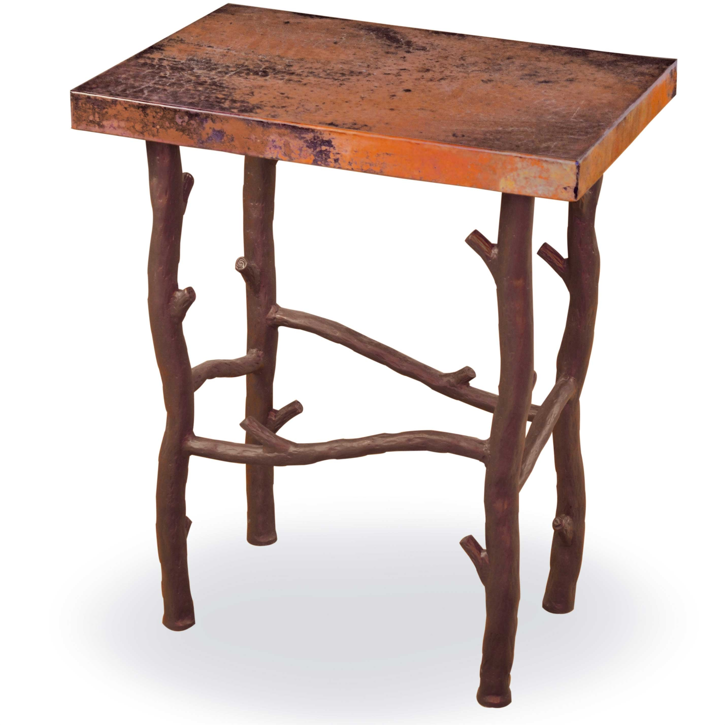Finish Tables Pictured Here Is The South Fork Small End Table With Aged