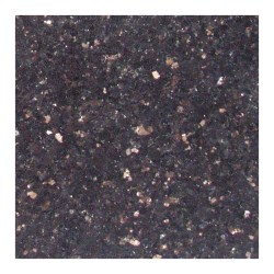 Small Crop Of Black Galaxy Granite