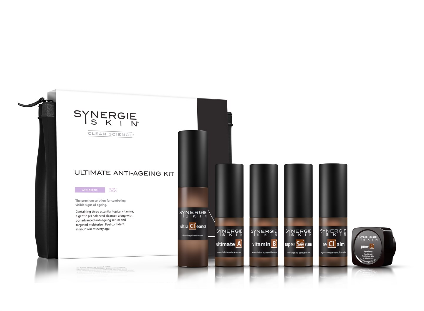 Synergie Salon Synergie Ultimate Anti Ageing Kit Time Out Beauty