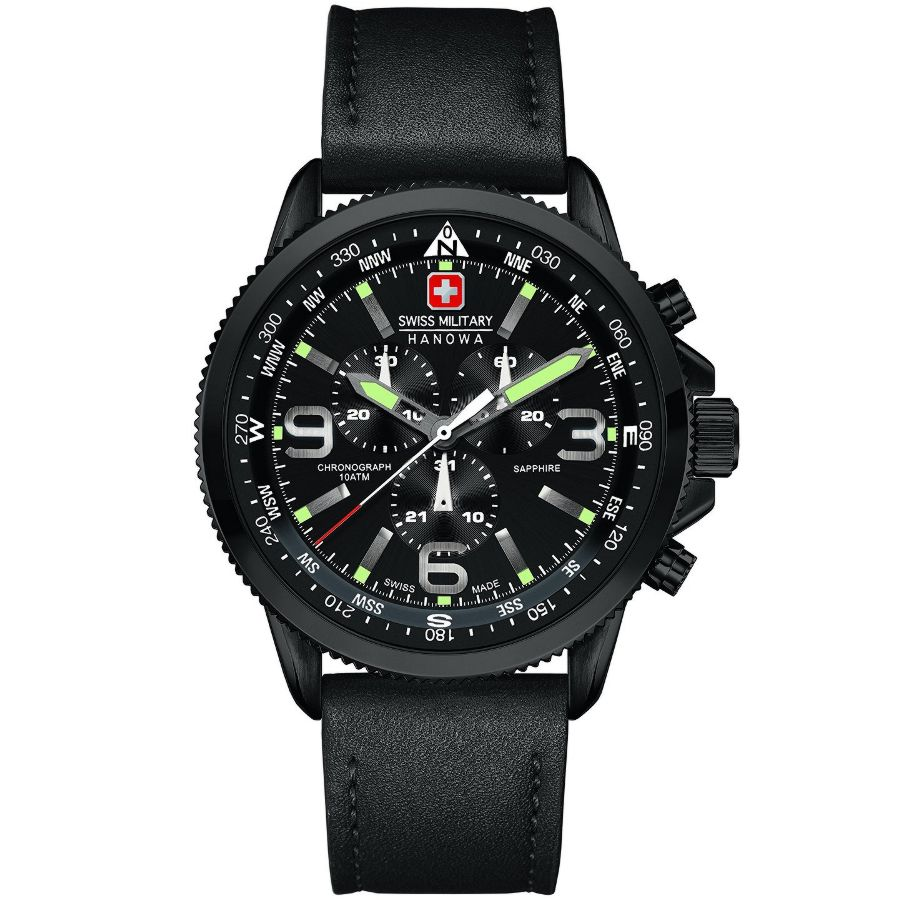Alessi Sale Swiss Military Hanowa Gent S Arrow Chronograph Watch 6