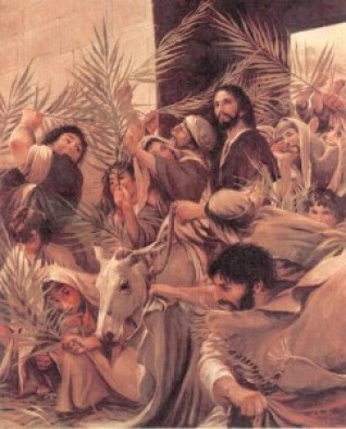 "Walter Rane, ""The Triumphal Entry of Christ"""