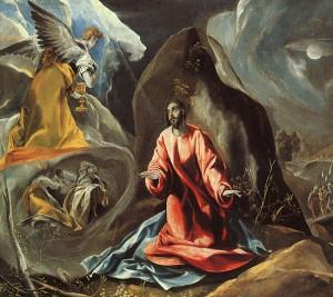 """El Greco, """"The Agony in the Garden,"""" 1608"""