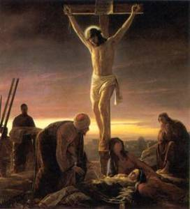 "Carl Bloch, ""The Crucifixion,"" 1865-79."