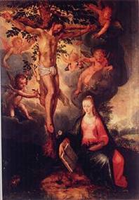 "Hendrick Goltzius, ""Christ on the Tree of Life,"" 1610"