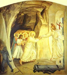 "Fra Angelico, ""Christ in Limbo,"" c.1450."