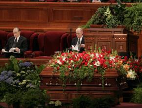 President Hinckley's Funeral