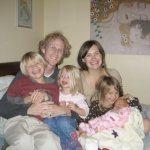 Family after Ewa Nuhr's birth