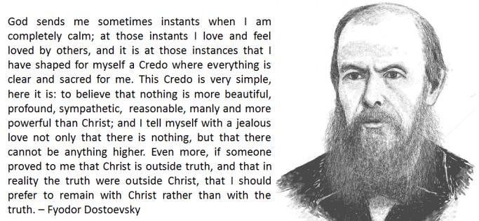 2013-07-08 Fyodor Dostoevsky Quote