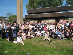 A reunion of the Utrecht ward in 2007: history is our spring board for the future