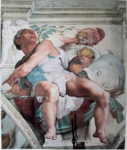 As a prophet Jonah has been an inspiration for great art as well: Michelangelo's Jonah