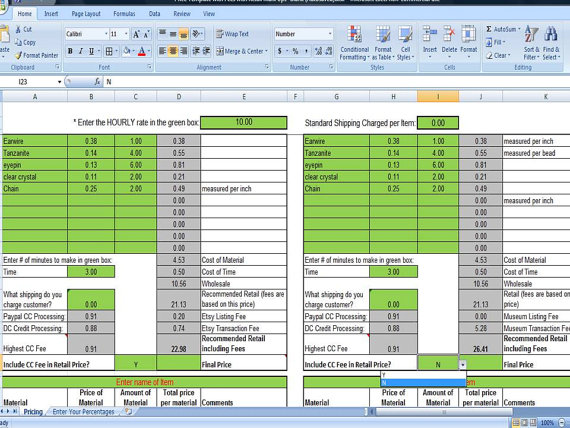 product pricing calculator excel - Militarybralicious - product pricing calculator