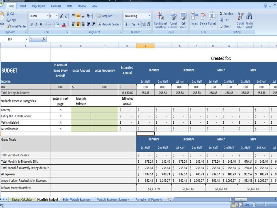 Savings Goal Calculator Excel, Simple Target Savings Calculator -