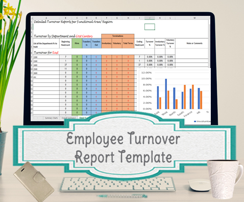 Employee Turnover Report Template -