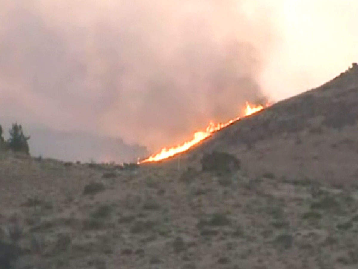 Miles And More India Wildfires Near Reno Burn Over 50 Square Miles