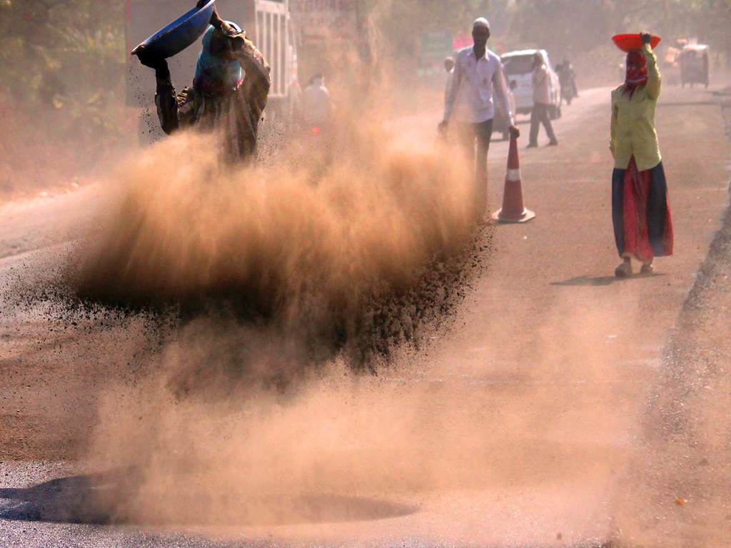 Travel Air Chennai Air Pollution In Ahmedabad 'road Dust Big Contributor To