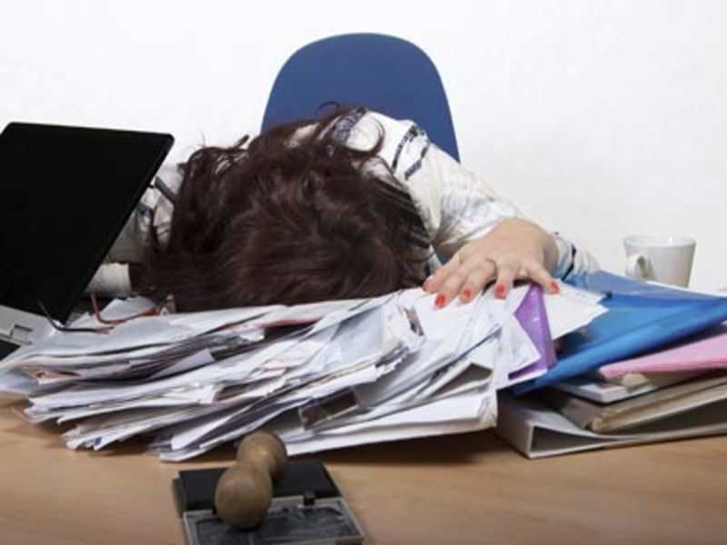 How to stay awake at work after a late night - Times of India