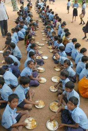 Bad days for students as Centre cuts funds to midday meal scheme