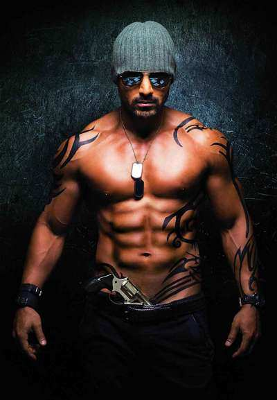Arsenal Iphone Wallpaper Hd Force To Show John S 8 Pack Abs Hindi Movie News