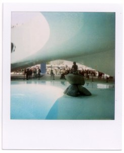 World Expo - Denmark Pavilion Polaroid