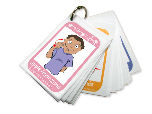 Toddler Child Requirements Infant Flash Cards Time To Sign