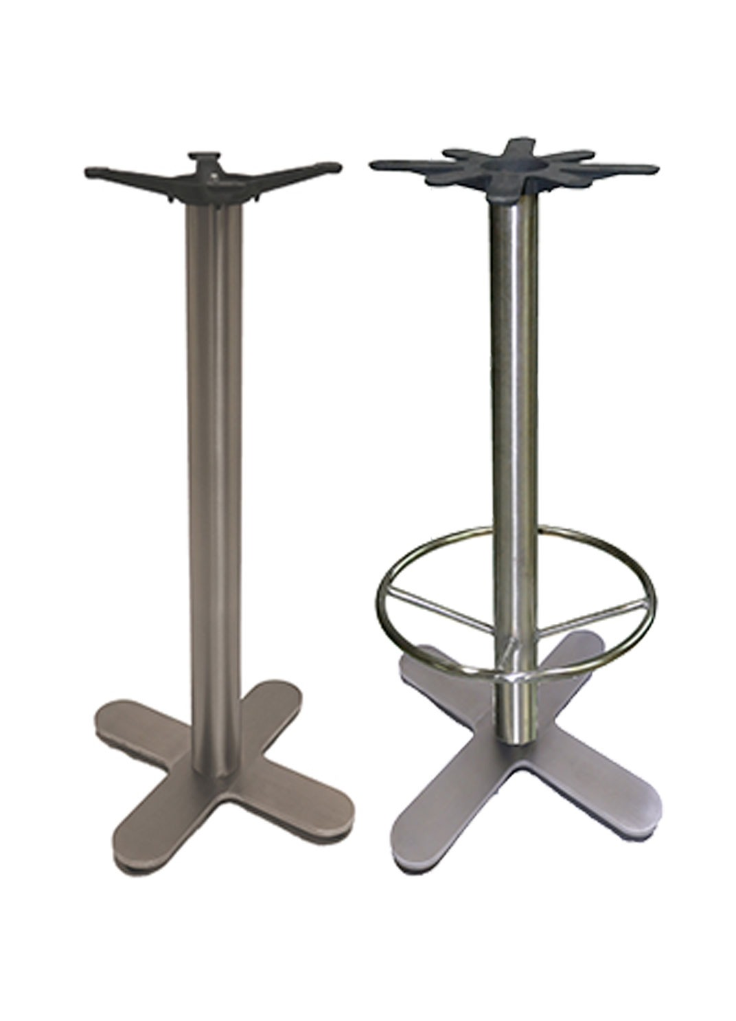 Stainless Restaurant Table Bar Height Stainless Steel Restaurant Table Bases With Or Without