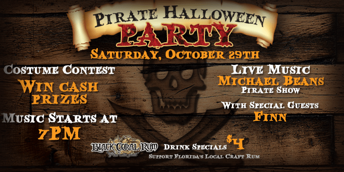 Pirate Halloween Party