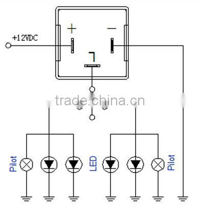 Auto LED Flasher electronics adjustable flasher 12V 24V 150W 20A WM