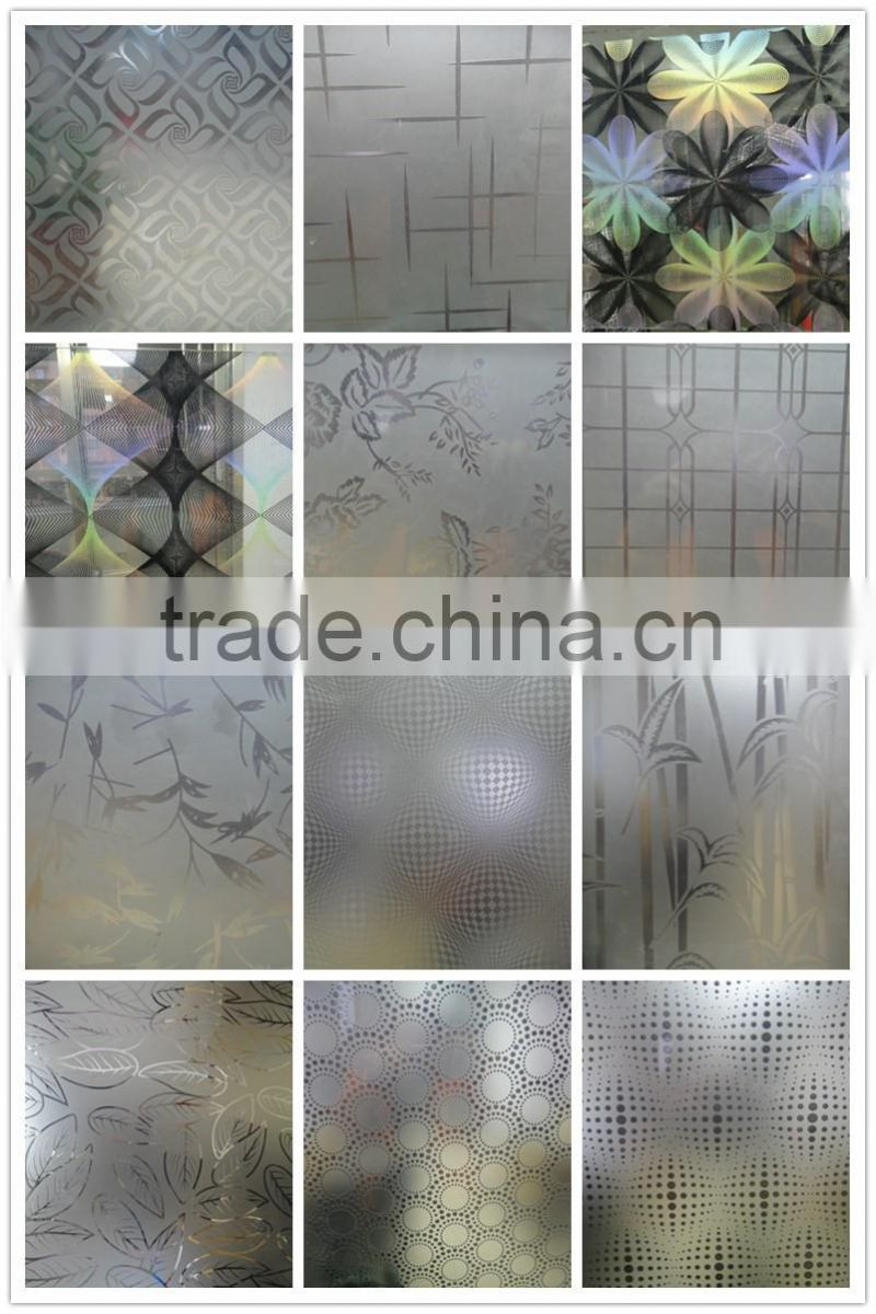 Large Of Acid Etched Glass
