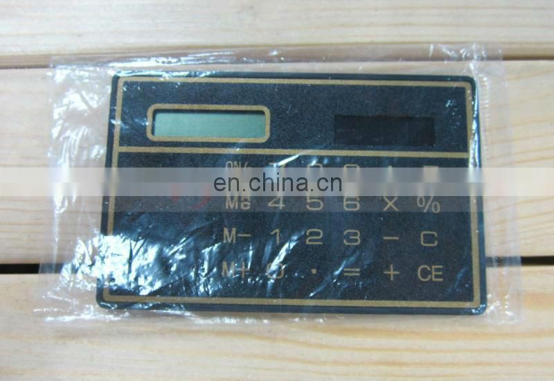 Pouch Finger Size Emergency Solar Power 3mm Thickness Card