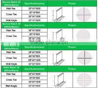 Suspended Ceiling Grid Types  Review Home Decor