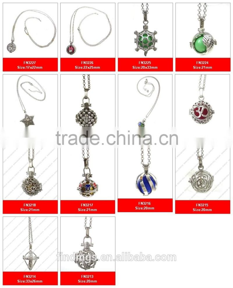 Wholesale Jewelry Bali Fn3239 Large Wholesale Jewelry Necklace Women Pendant With